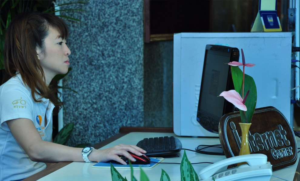 Asia Pattaya Hotel : Internet