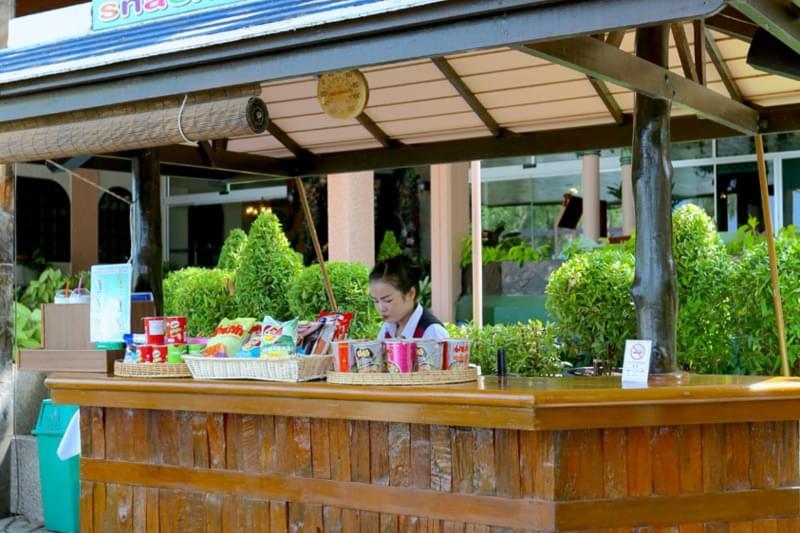 Asia Pattaya Hotel : Pool Bar