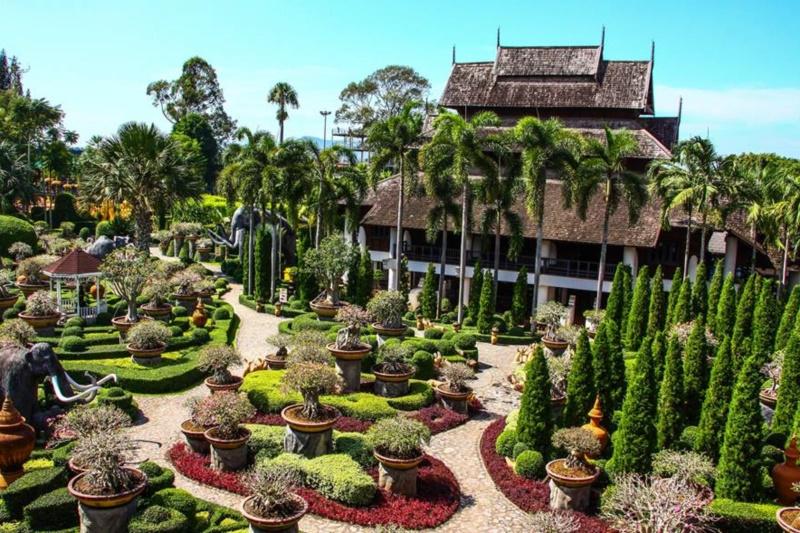 Asia Pattaya Hotel : NongNooch Garden